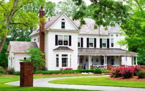 Cherokee - Homepage Image with American House